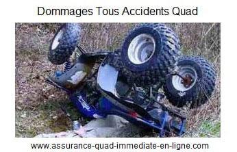 Assurance quad garantie Dommages tous accidents