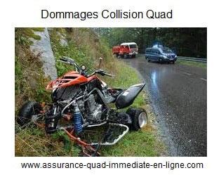 Assurance quad garantie Dommages collision
