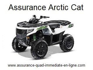 Assurance quad arctic cat