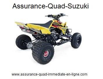 Assurance quad Suzuki